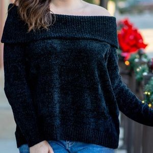 Chic Soul off the shoulder sweater